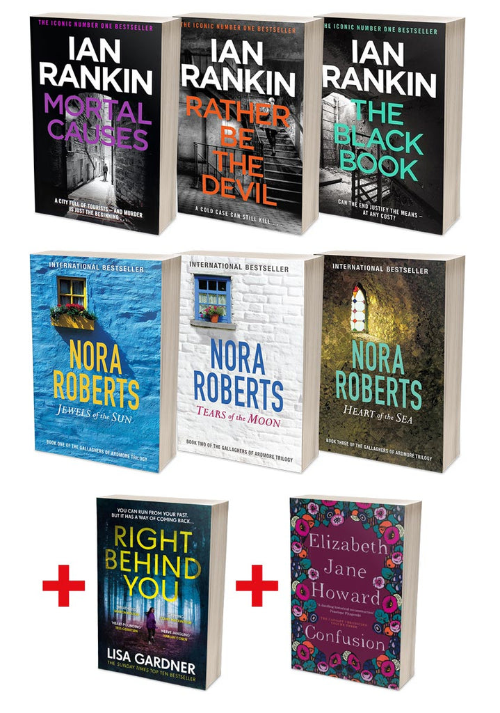 Best of Ian Rankin Bundle + Nora Roberts Gallaghers of Ardmore Bundles (MT34D + SR04C)