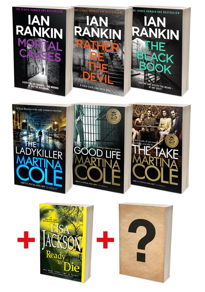 Ian Rankin Best of Rebus + Martina Cole Ladykillers Bundles (MT34F + MT35F)