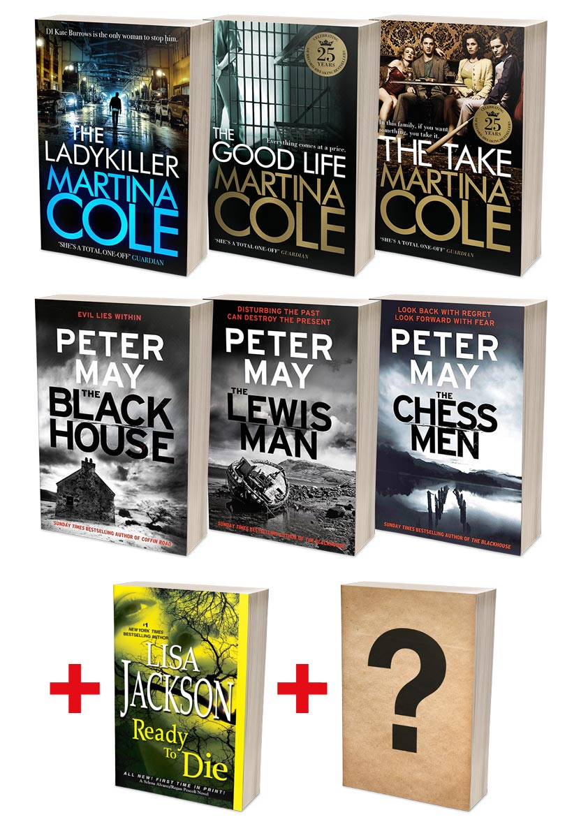Martina Cole Ladykillers + Peter May Lewis Trilogy Bundles (MT35F + MT36F)