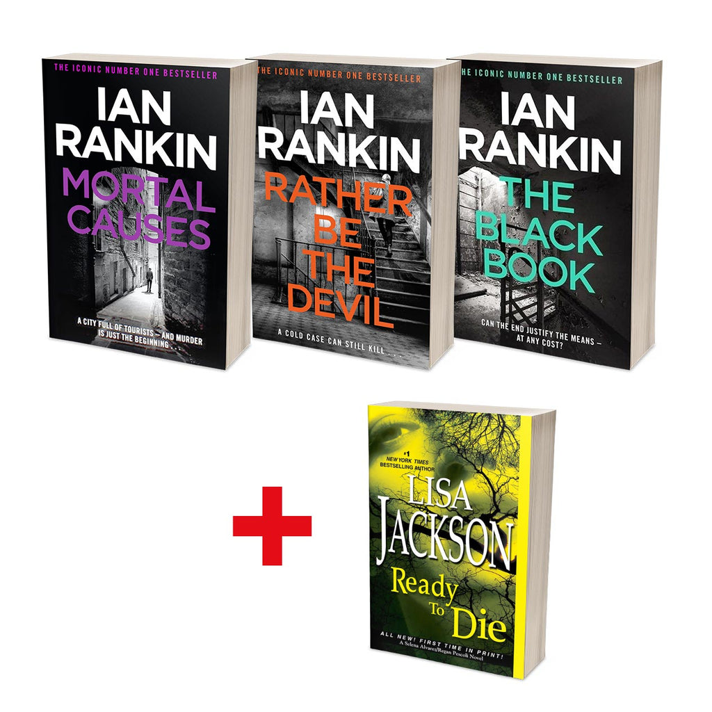 Ian Rankin Best of Rebus Bundle (MT34F)
