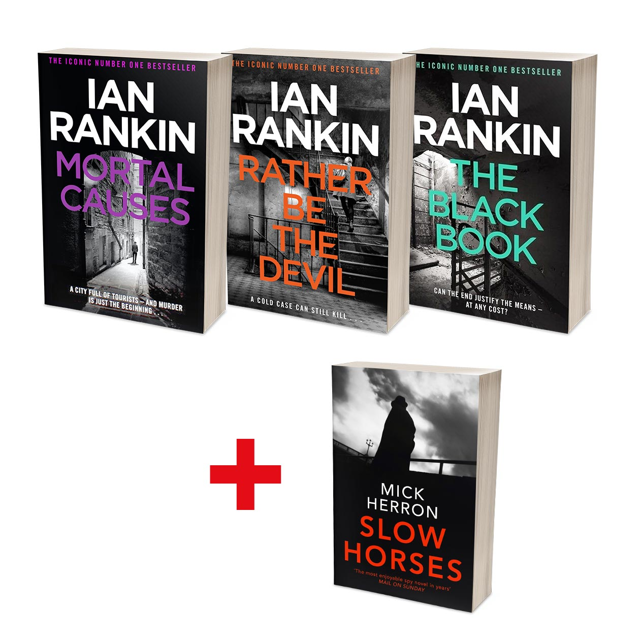 Ian Rankin Best of Rebus Bundle (MT34G)