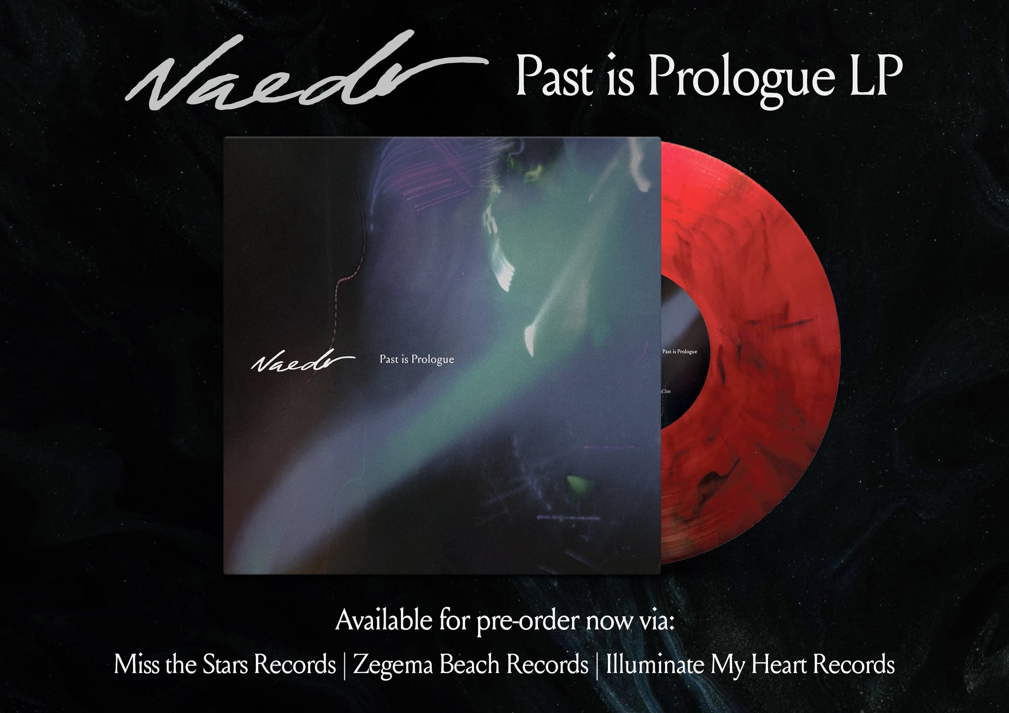 "NAEDR - Past is Prologue (tape/12"")"