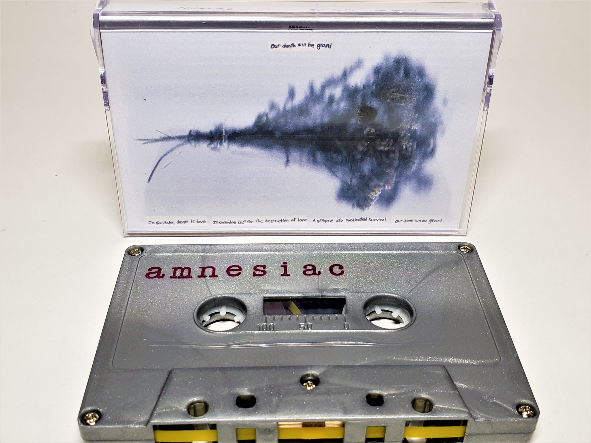 AMNESIAC - Our Death Will Be Grand (cassette)