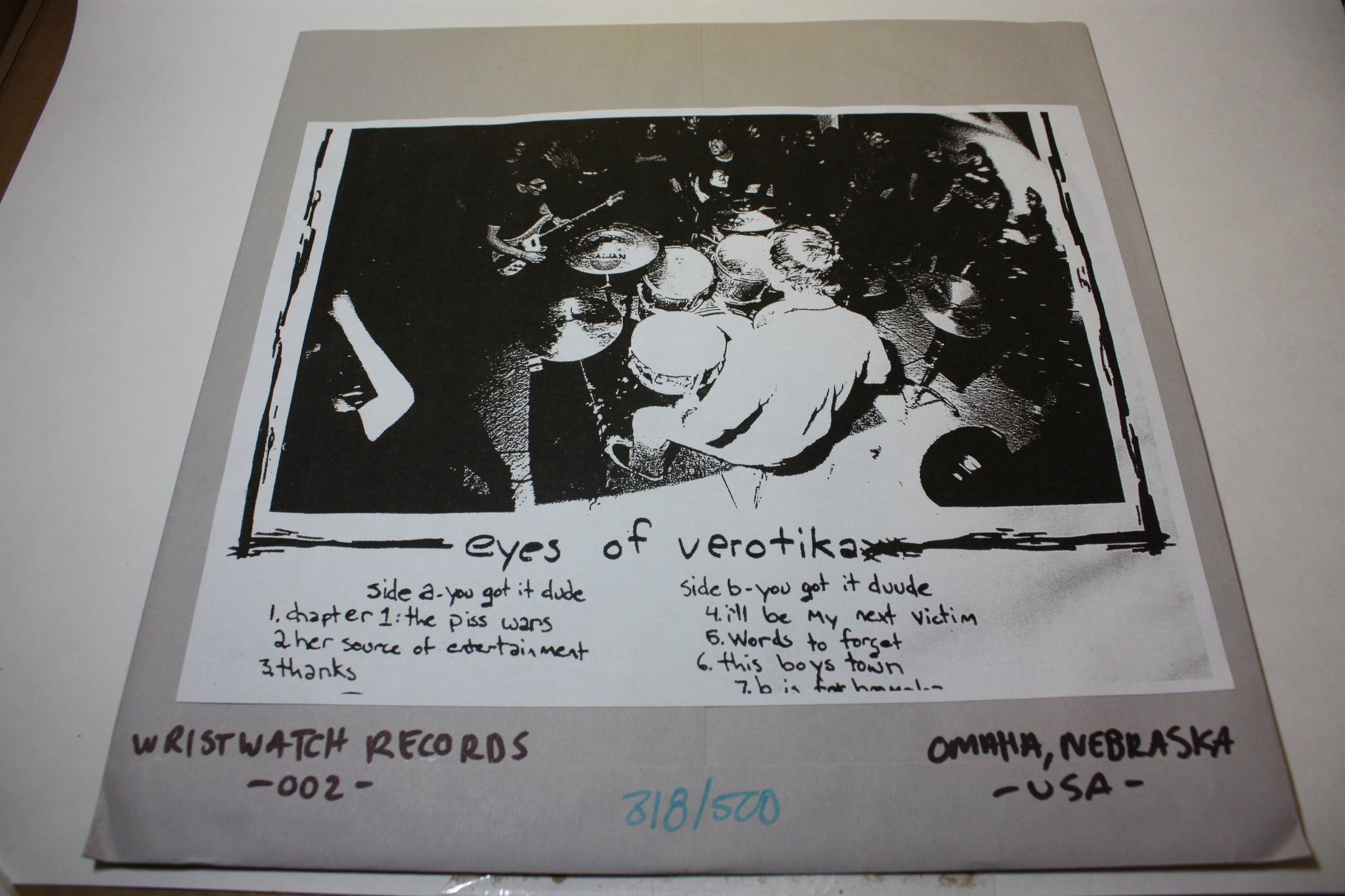 "EYES OF VEROTIKA - Map Of Heroes (12"")"