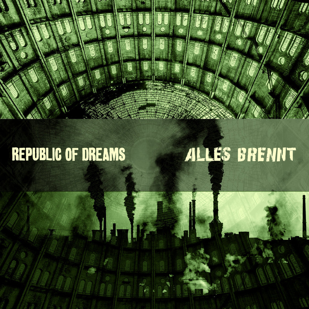 Republic of Dreams / Alles Brennt split (cassette)