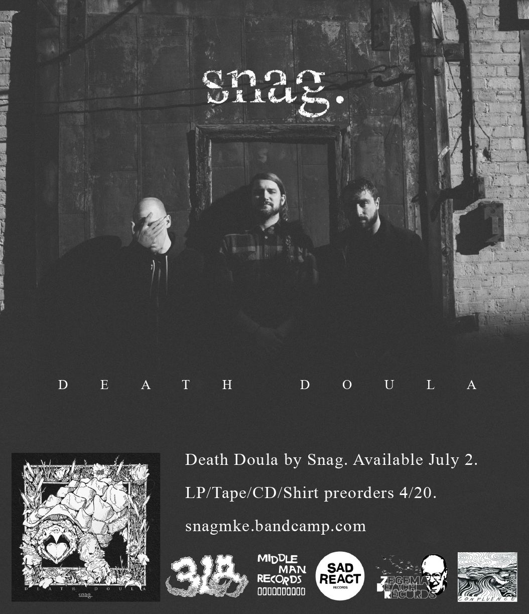 "SNAG - Death Doula (12""LP/shirt)"