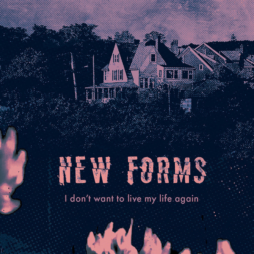 New Forms - I Don't Want to Live My Life Again (cassette)