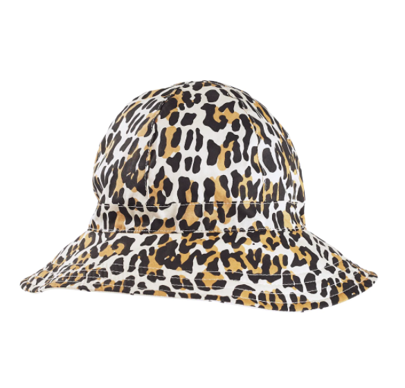 LEOPARD FLOPPY HAT
