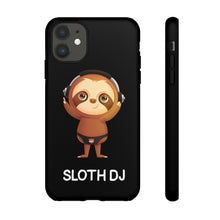 "Load image into Gallery viewer, ""SLOTH DJ"" TOUGH PHONE CASE"
