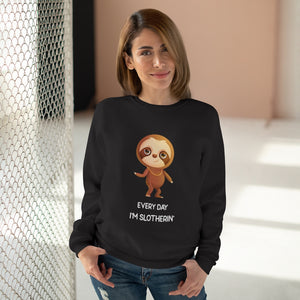 """EVERY DAY I'M SLOTHERIN"" SWEATSHIRT"