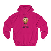 "Load image into Gallery viewer, ""SLOTH DJ"" HOODIE"