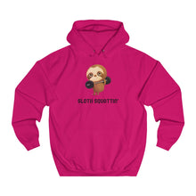 "Load image into Gallery viewer, ""SLOTH SQUATTIN"" HOODIE"