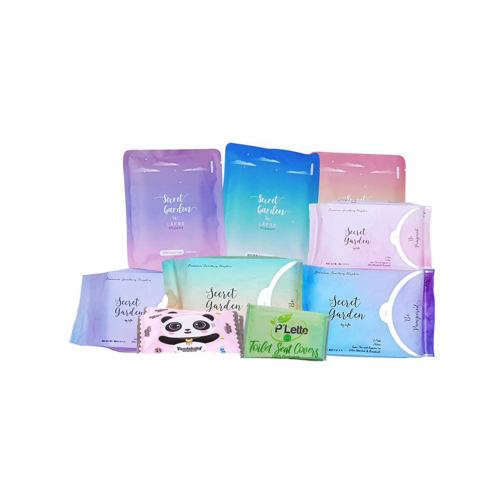 [$8.88 HUAT SET] Her Time Of The Month Set