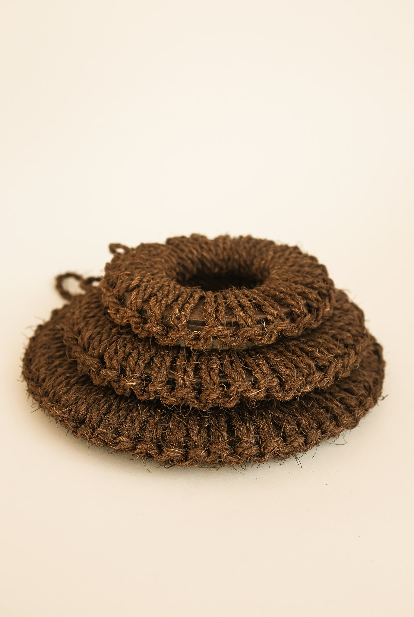 Kishu Palm Hand-knitted Pot Flooring: Large