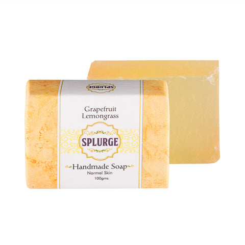 Grapefruit Lemongrass Handmade Soap