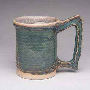 Mug by Gord Jones GJ37 - Height: 9 cm Width 11 cm / Yes /