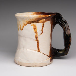 Mug by Gord Jones GJ39 - Height: 13 cm Width 10 cm / Yes /