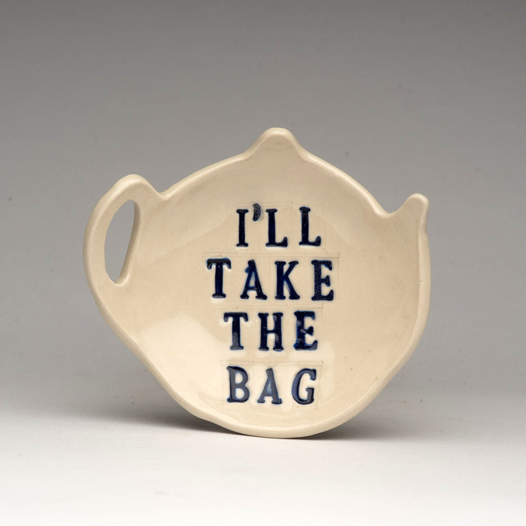 Teabag Holder by Lauren MacRae LAUREN171
