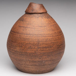 Vase by Gord Jones GJ44 - Height: 22 cm Width 20 cm / Yes /