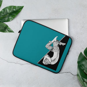 Flying Pole Laptop Sleeve