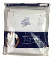 Simply Styled by Sears Men's 3-Pack White T-Shirts (x59) - Manifested
