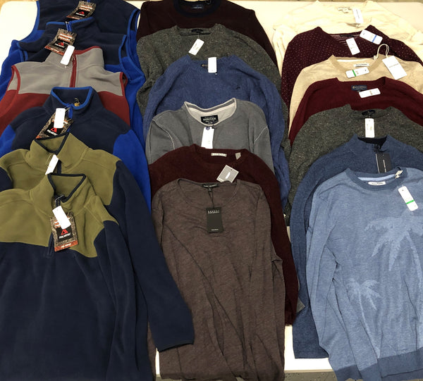 Brooks Brothers & More Men Sweaters (x20)