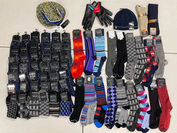 MCY Men Socks & Accessories (x65)