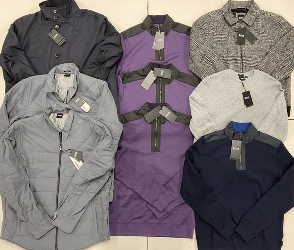 Hugo Boss Men Sweaters & Jackets (x9)