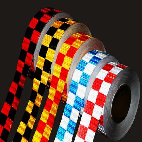 PVC 5*300cm Arrow Sticker reflective tape Reflective Conspicuity Safety Warning lighting Tape Strip for car trailers truck traff