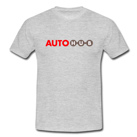 AUTOHUB - Men's T-Shirt - heather grey