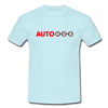 AUTOHUB - Men's T-Shirt - sky