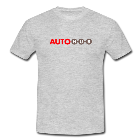 Basic AUTOHUB-Fanshirt - heather grey