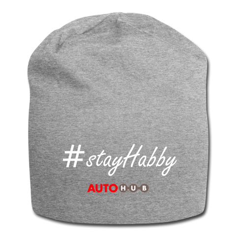 AUTOHUB Jersey Beanie - heather grey