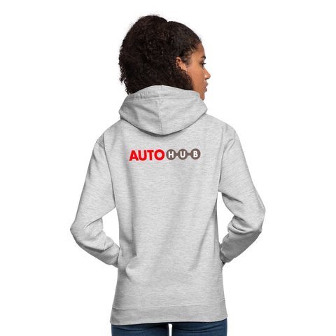 Sag es mit einem Hoodie - light heather grey