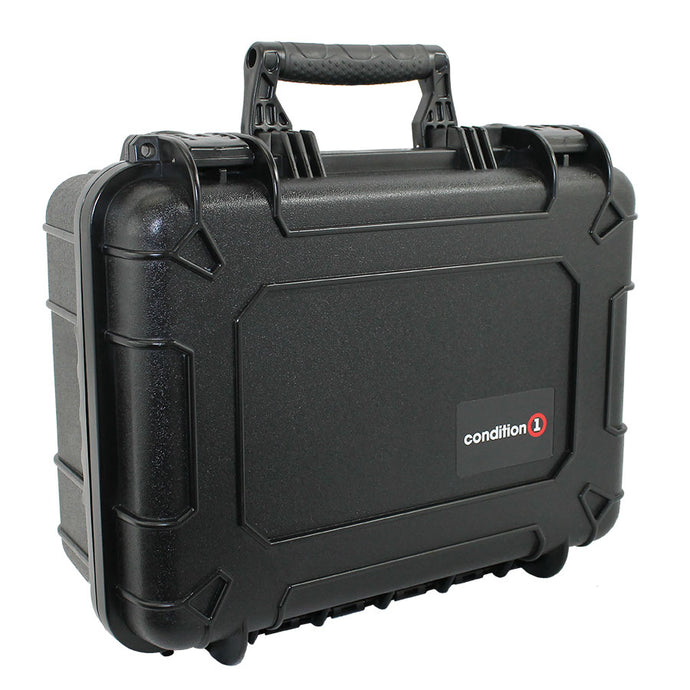14 inches Medium Hard Carrying Case #075 black