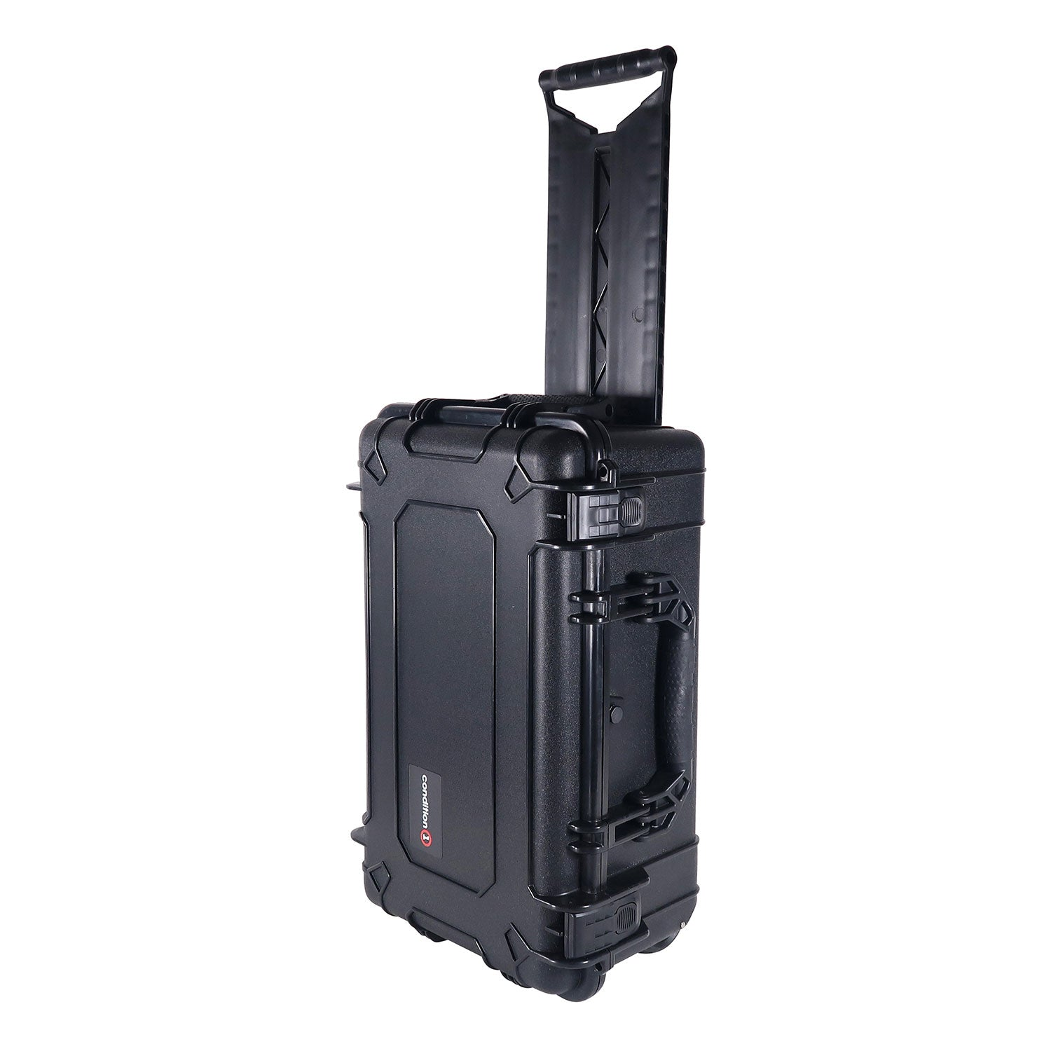 "Load image into Gallery viewer, 22"" Rolling Travel Hard Case #300 black model"