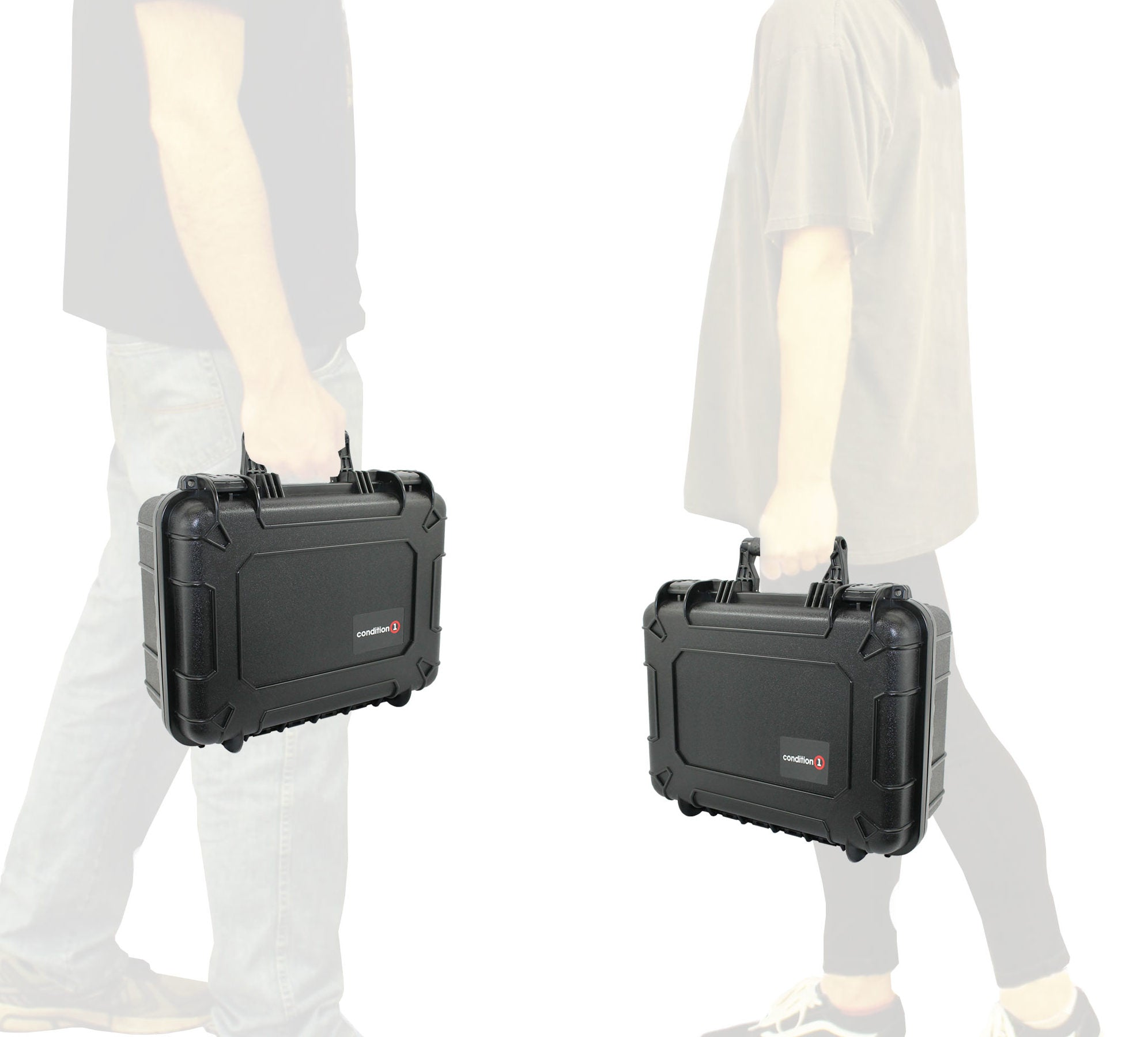 "Load image into Gallery viewer, 16"" Medium Carrying Case #179 in hand"