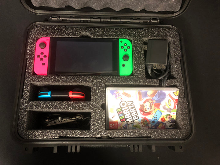 Custom Foam Insert for Switch System Storage & Transport for #179 Hard Casewith contentn inside