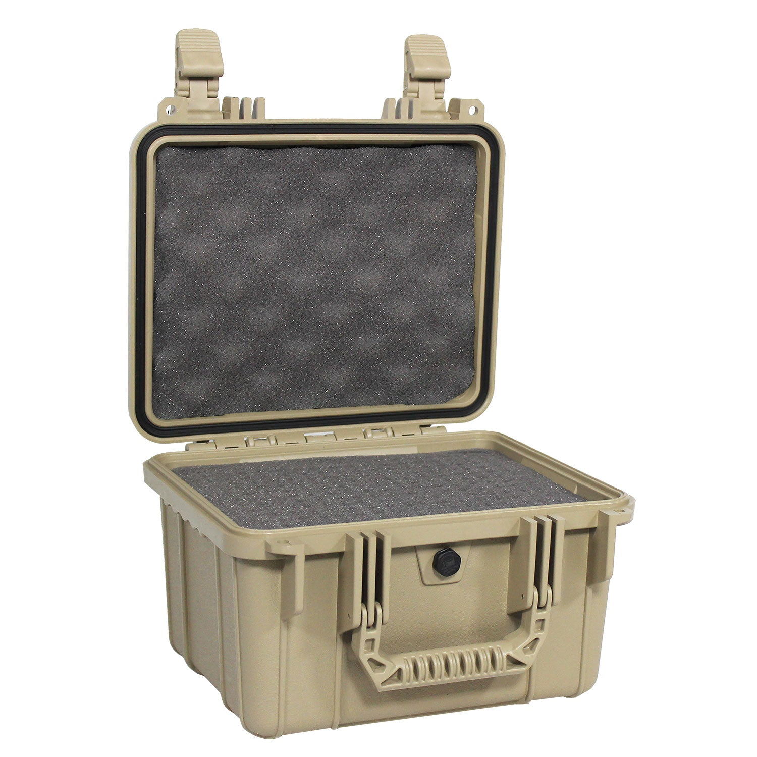 "Load image into Gallery viewer, interior of the 11"" Small Carrying Case #185 tan model"