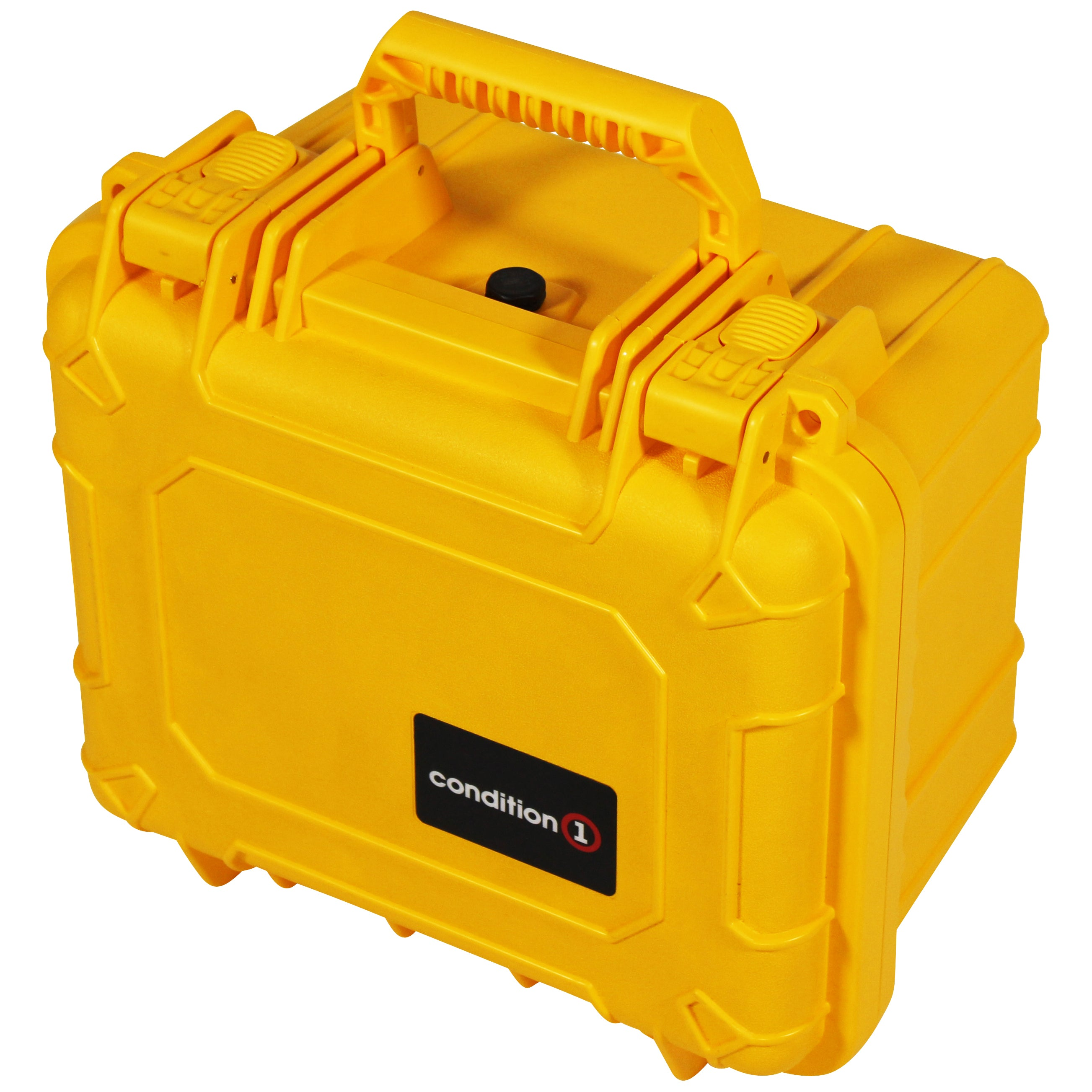 "Load image into Gallery viewer, lock of the 11"" Small Carrying Case #185 yellow  model"
