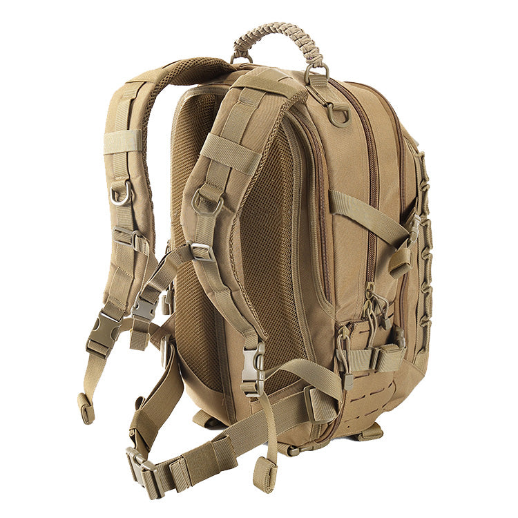 "Condition 1 REBEL 25L Laser Cut 2 Day Assault Back Pack with Condition 1 Waterproof 8"" Micro Hard Case Accessory"