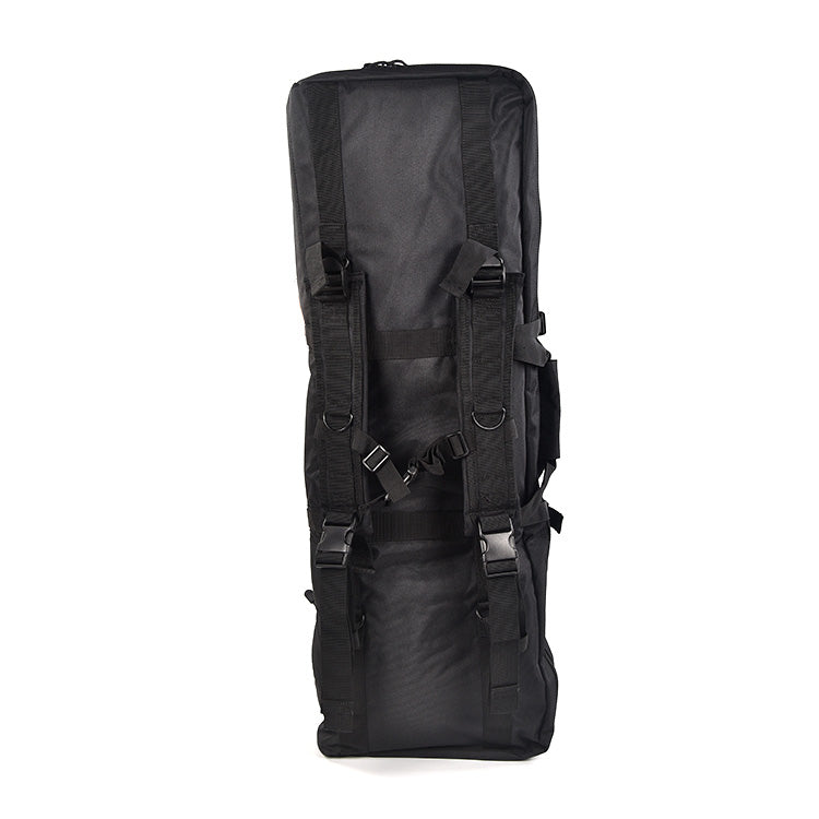 "Load image into Gallery viewer, REBEL 36"" & 42"" Double Tactical Rifle Bag with Condition 1 Waterproof 8"" Micro Hard Case Accessory black color"