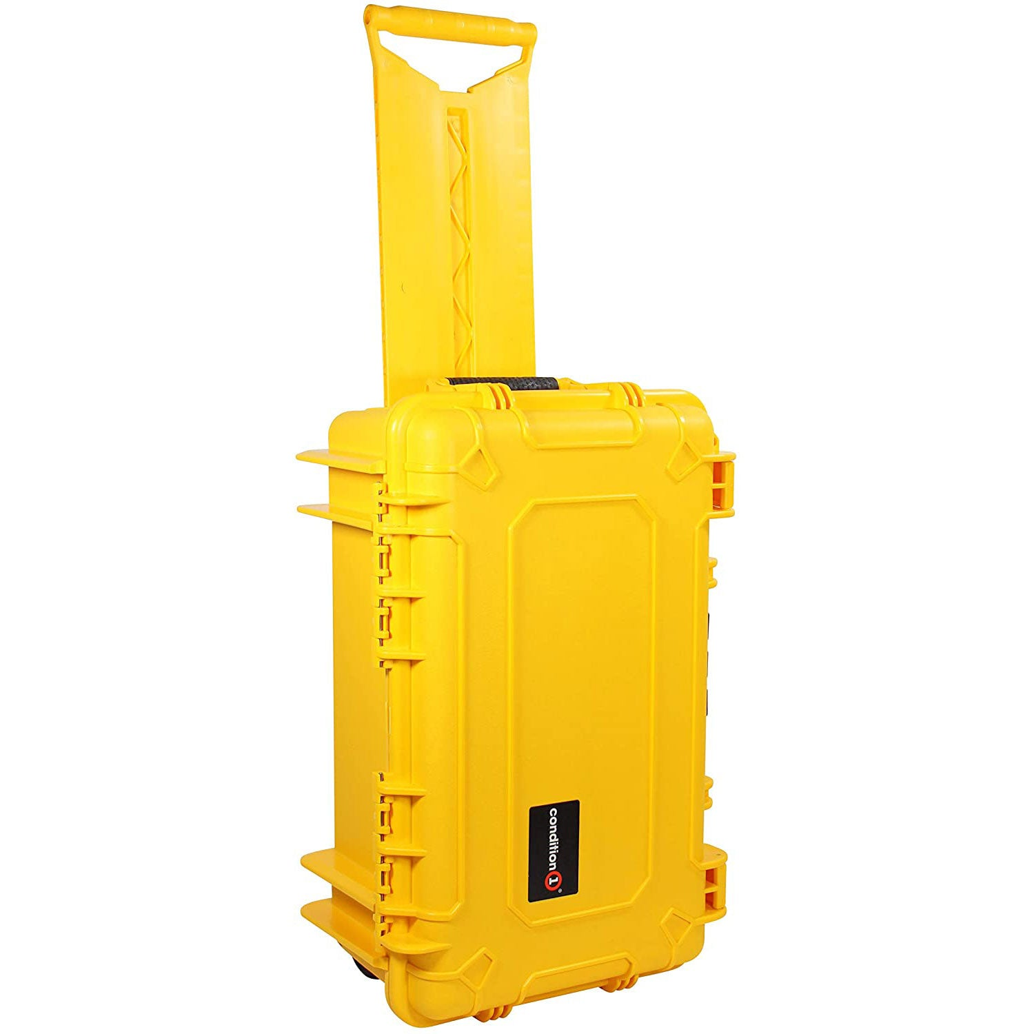 "Load image into Gallery viewer, 22"" Rolling Travel Hard Case #300 yellow model"