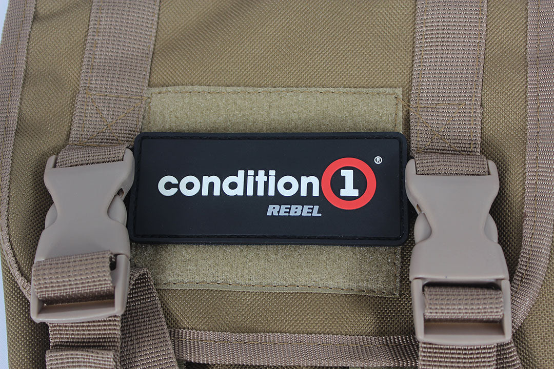 condition 1 rebel badge