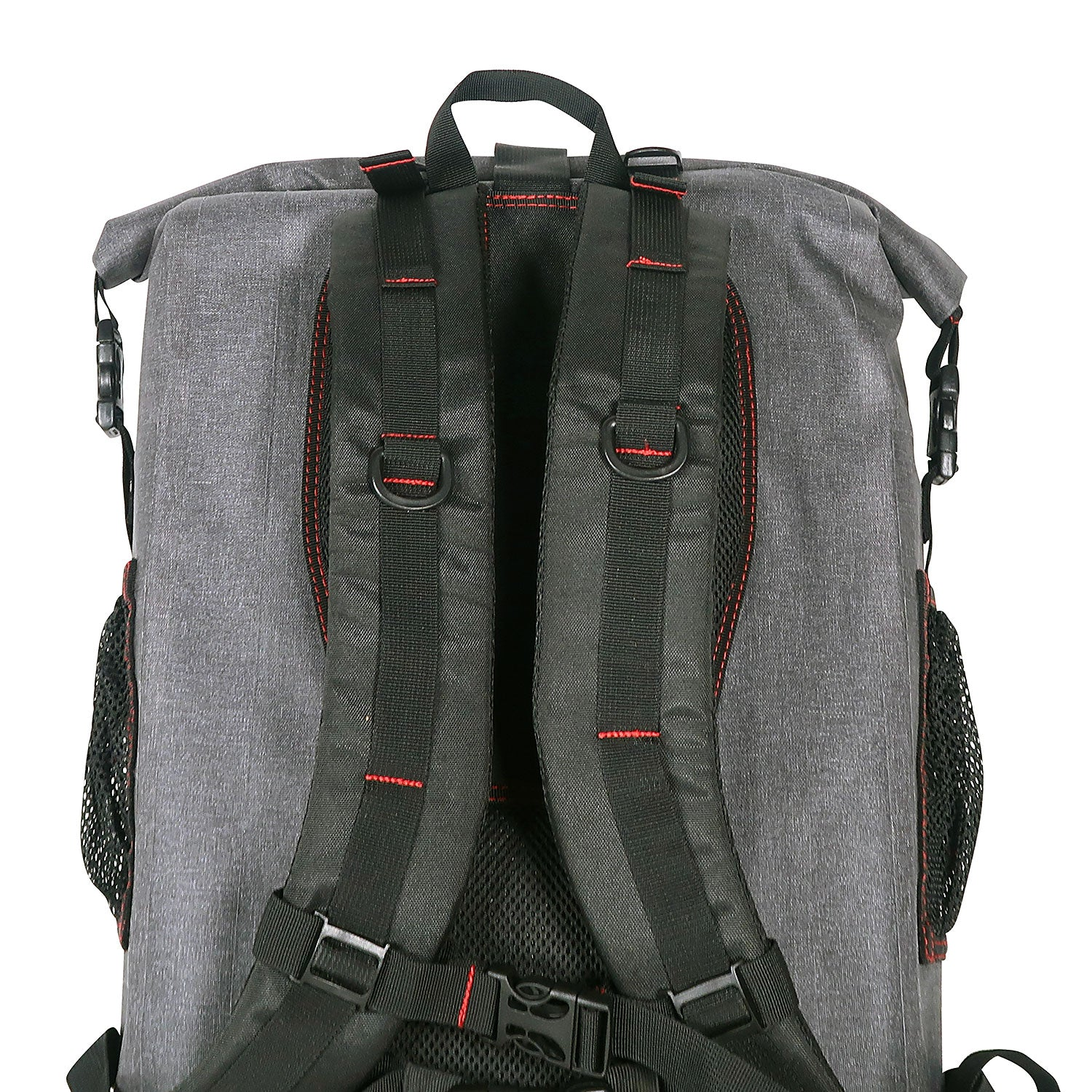Load image into Gallery viewer, back of the  30L Dry-Bag with Front Net Pouch