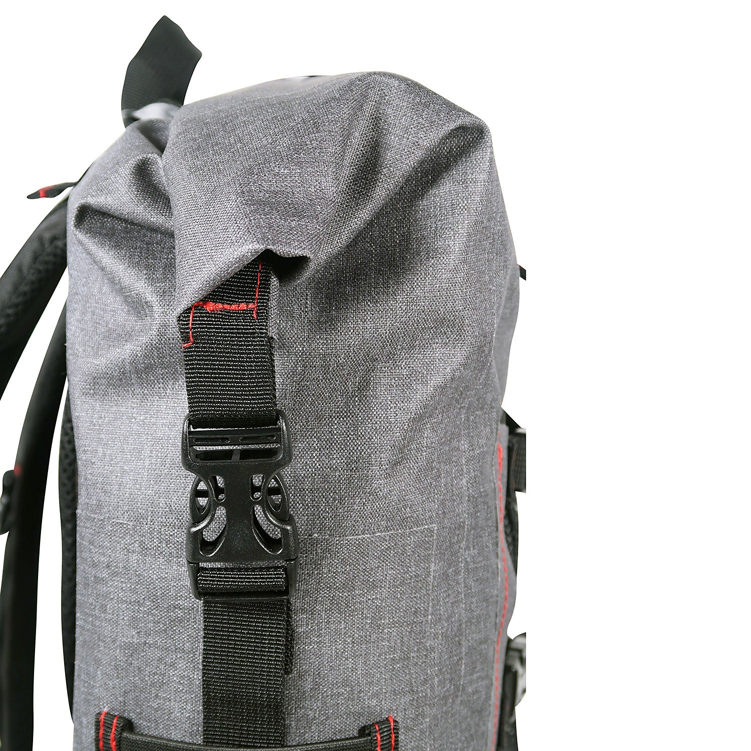 Load image into Gallery viewer, top ot the 30L Dry-Bag with Front Net Pouch