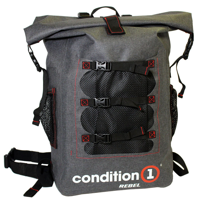 30L Dry-Bag with Front Net Pouch