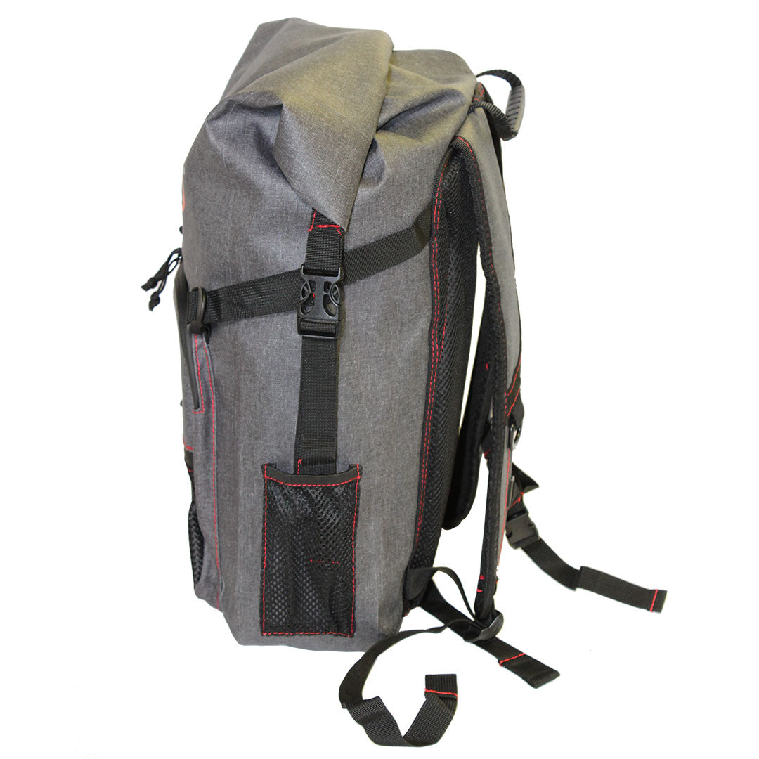 side pockt of the 30L Dry-Bag with Front Zippered Pocket