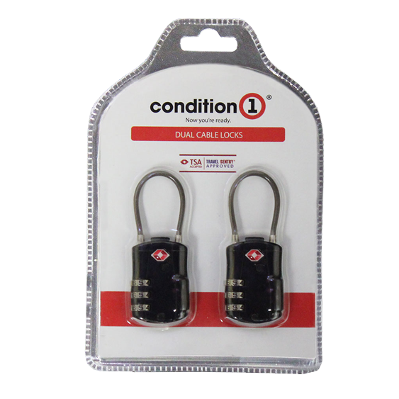 Condition 1 Dual Cable Locks