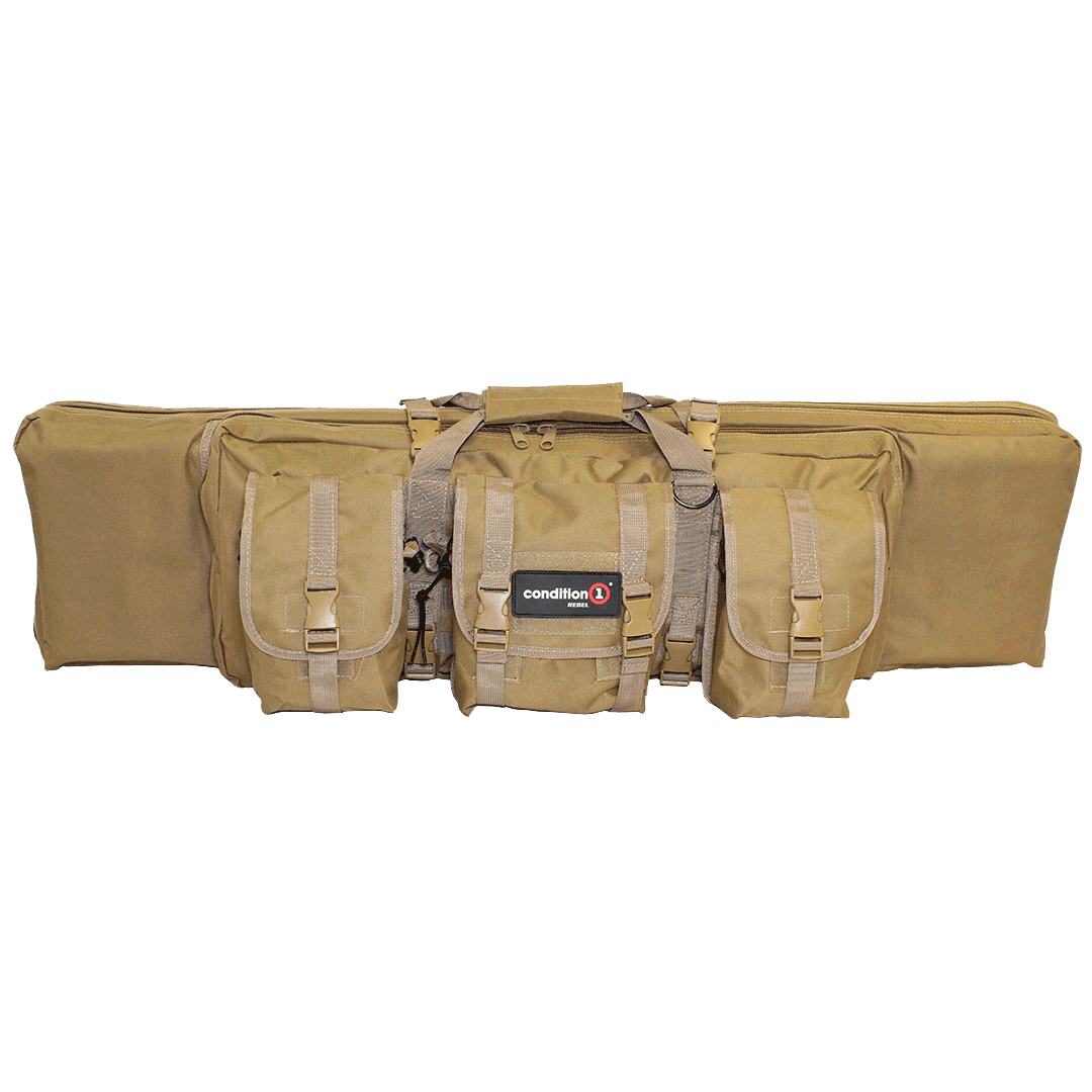 "Load image into Gallery viewer,  Rebel- 42"" Single Tactical Rifle Bag"